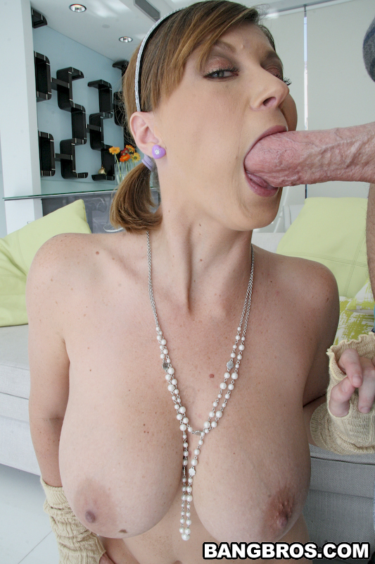 Sara Stone Sucking A Cock